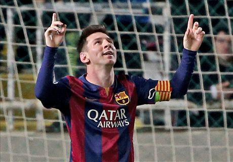 Record-breaking Messi destroys APOEL