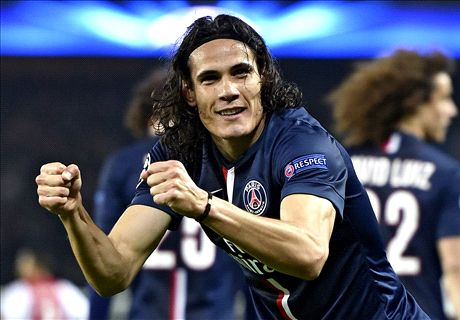Cavani double downs Ajax