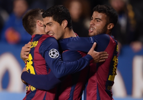 Suarez relieved to score first Barca goal