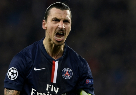Ibrahimovic reveals his Dream XI