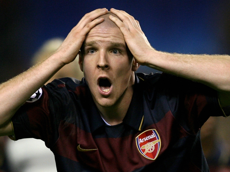 Gallas: Senderos had panic attacks before Arsenal matches