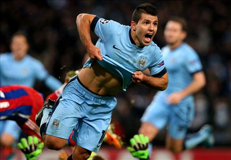 Man City still fighting thanks to Aguero
