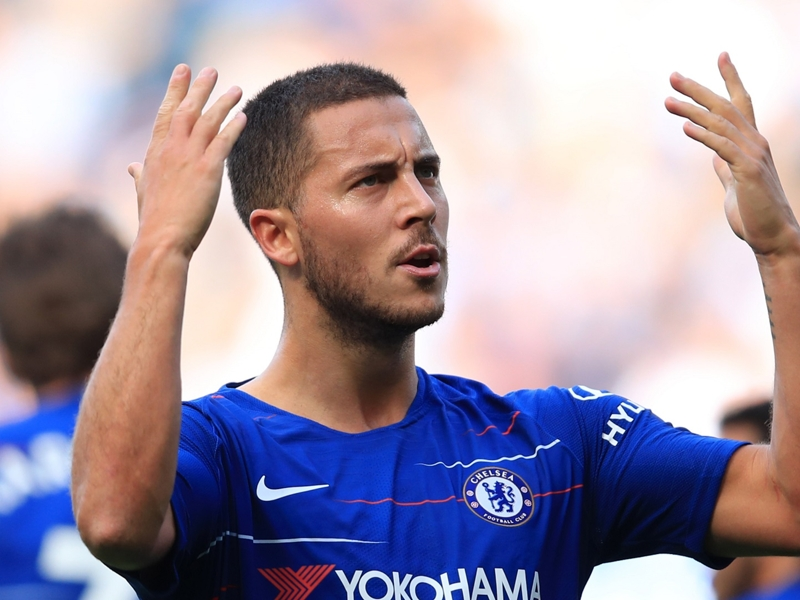 Hazard happy at Chelsea despite hinting at summer switch