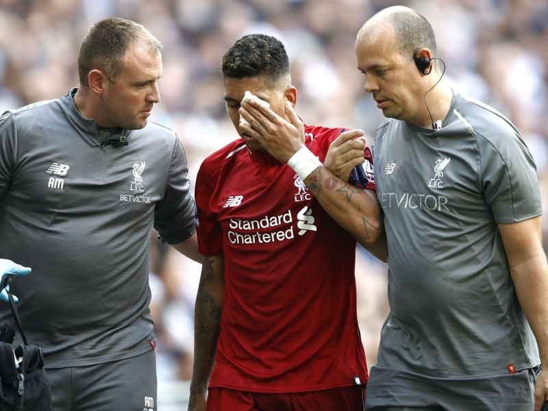 Firmino eye injury leaves Liverpool sweating on Brazilian's involvement against PSG