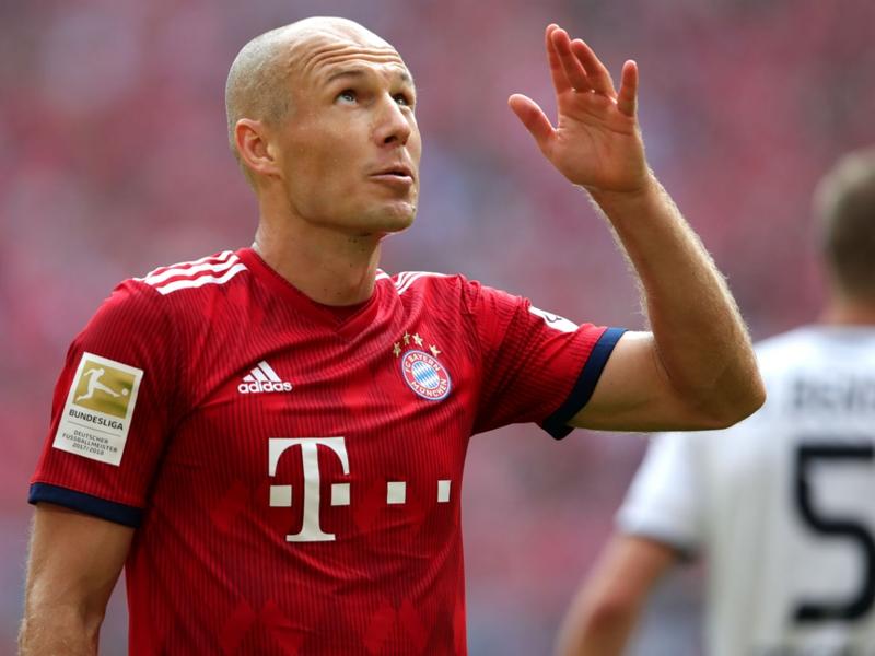 Bayern Munich 3 Bayer Leverkusen 1: Robben scores stunner