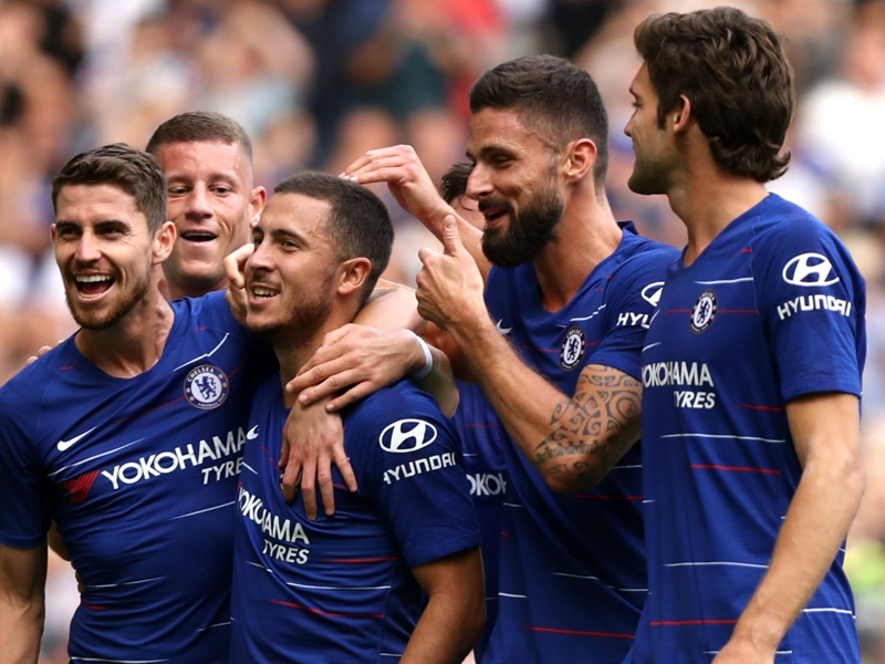 Hazard hat-trick sees Chelsea star join legends in exclusive club