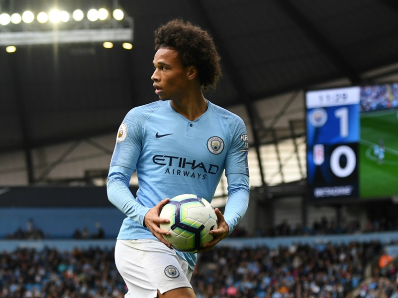 Guardiola seeking consistency from 'up and down' Sane