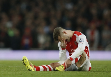 Wilshere ligament damage confirmed