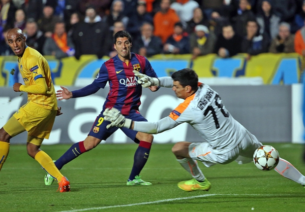 Suarez's first goal boosted Barcelona - Pedro
