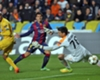 'Suarez's first goal boosted Barca'