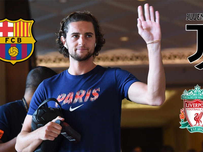 Which club could Adrien Rabiot join on a Bosman transfer? Liverpool, Barcelona, Juventus and possible destinations