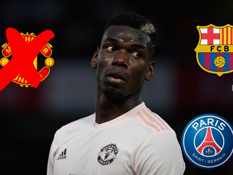 Could Pogba really leave Man Utd in January for Barcelona, Juventus or PSG?