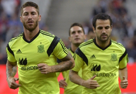 Fabregas and Ramos clear air