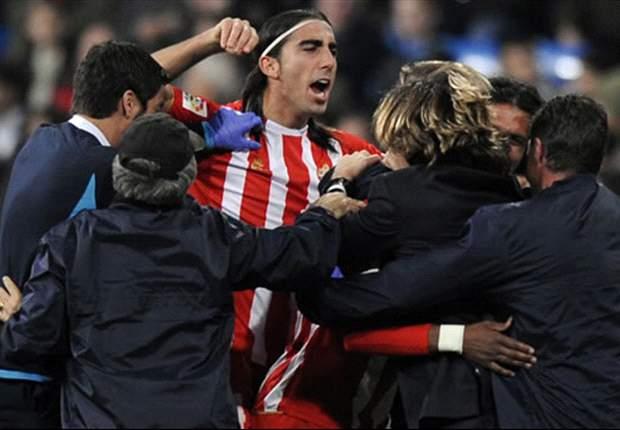 Almería 3-0 Girona: Los andaluces, el vigésimo pasajero de Primera