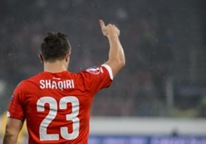 Bayern Munich and Switzerland midfielder Xherdan Shaqiri