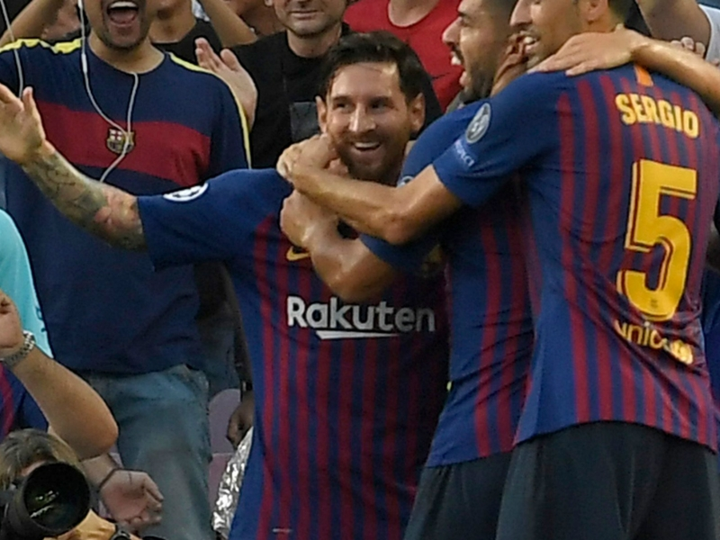 Magic Messi hits new personal best for Barcelona with stunning free-kick