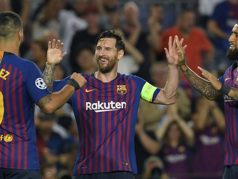 Rakitic wants more from Barcelona hat-trick hero Messi
