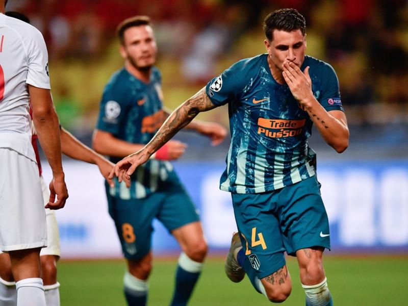دوري أبطال أوروبا - أتلتيكو مدريد يهزم موناكو بهدفين