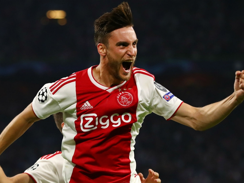 Ajax 3 AEK Athens 0: Tagliafico at the double in opening win