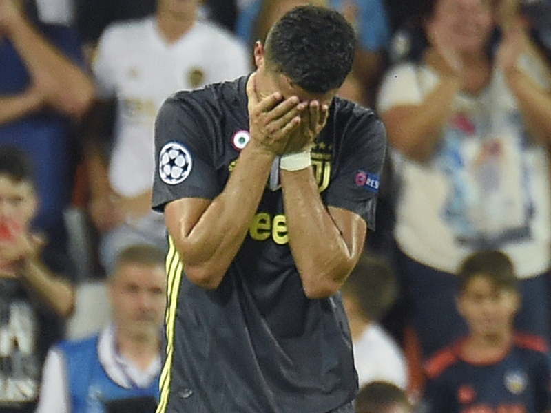 Ronaldo's red card a reminder Cristiano can be as petulant as he is prolific
