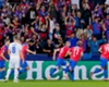 Michal Krmencik celebrates scoring for Viktoria Plzen