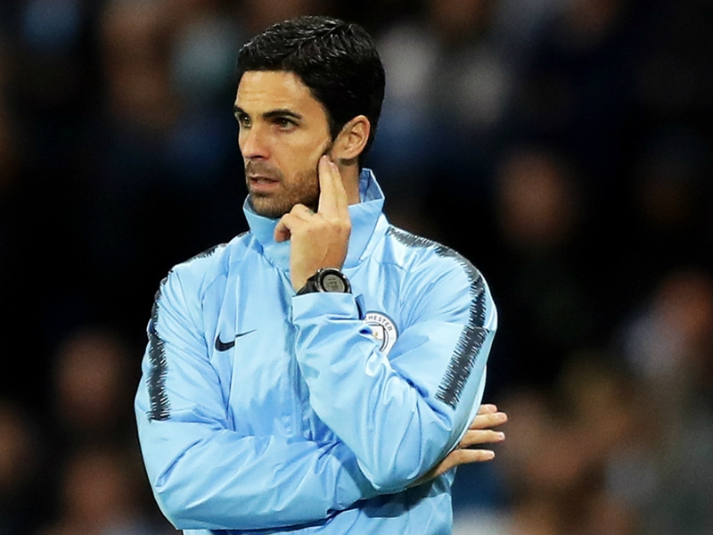 Arteta 'no idea' why Man City
