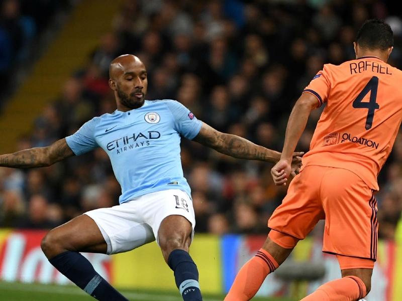 I've never lost at City - Man Utd fan Rafael boasts after Lyon win