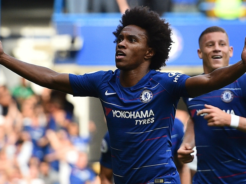 Willian airs Chelsea 'dream' to dampen talk of January departure
