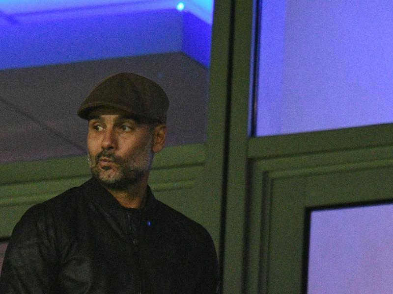 Manchester City, Guardiola n'en veut pas à ses joueurs après la défaite contre l'OL