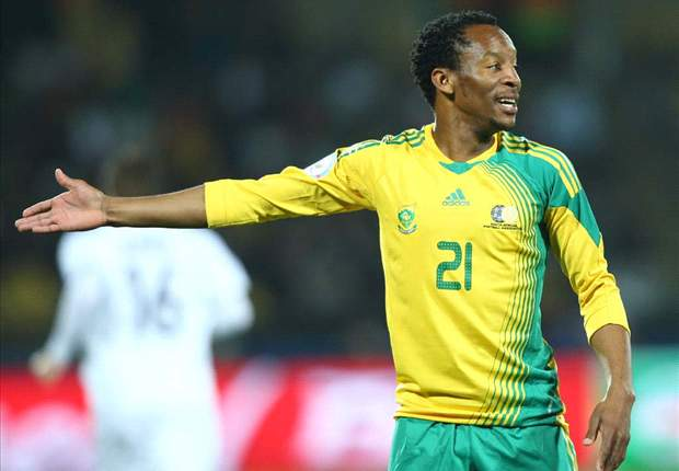 Bafana striker Katlego Mashego (Photo by Getty)