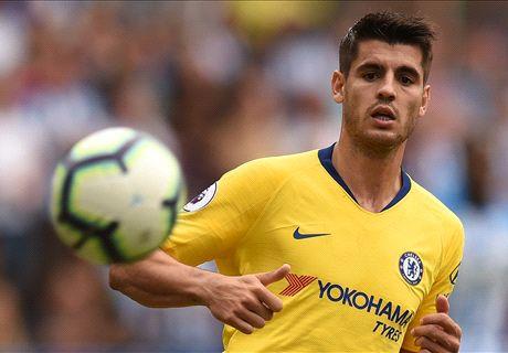 Sarri: Unlucky Morata needs confidence