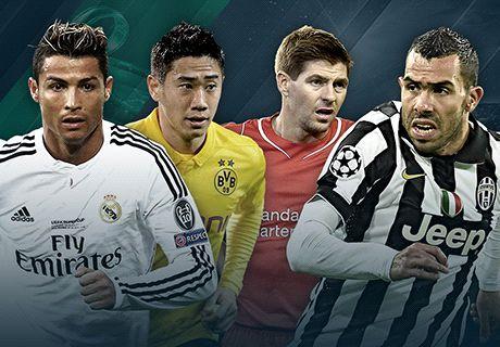 LIVE! Opbouw Champions League