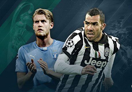 LIVE: Malmo vs. Juventus