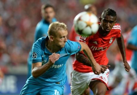 Laporan Pertandingan: Zenit 1-0 Benfica