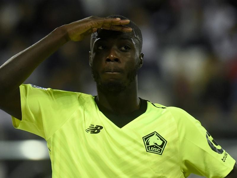 Ligue 1 - Caen 1-3 Lille : Nicolas Pépé repart très fort en 2019