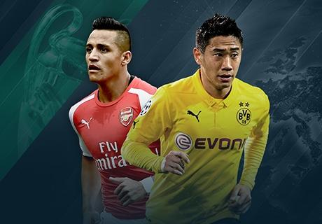 LIVE: Arsenal - Borussia Dortmund