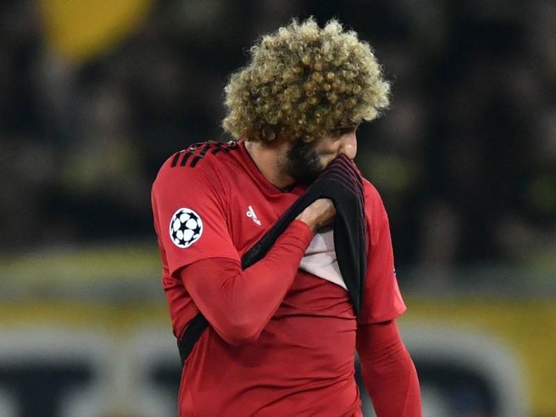 Fellaini shows off new haircut ahead of Man Utd midfielder's 31st birthday