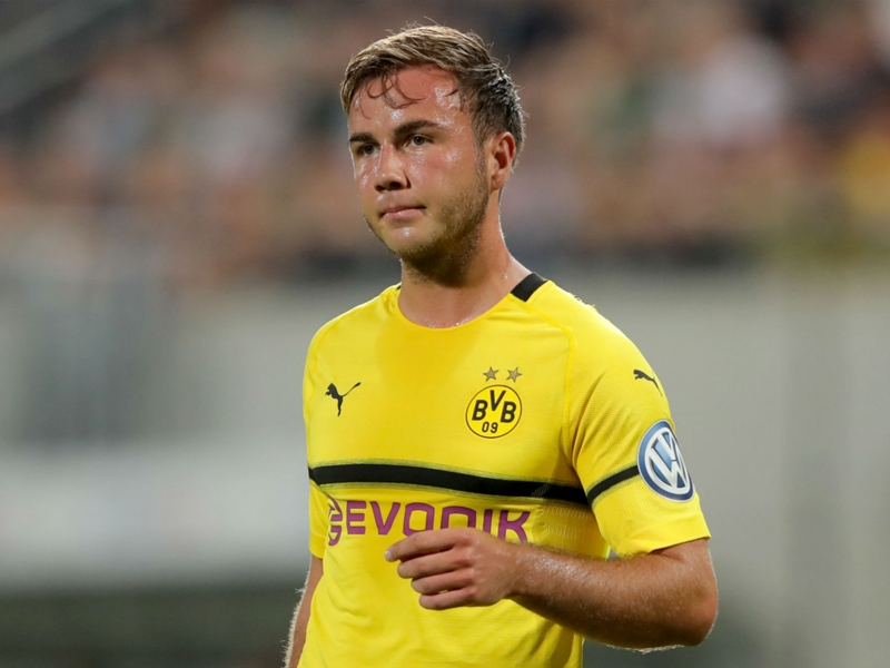 Gotze promises even more after return to form with Borussia Dortmund