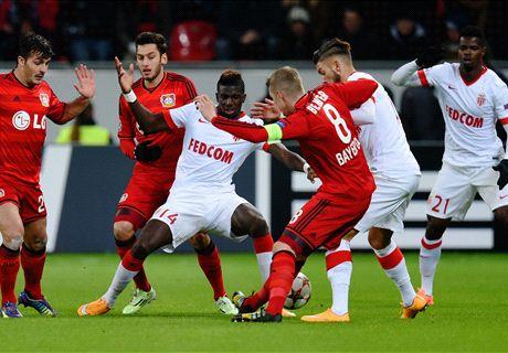 LIVE: Bayer Leverkusen 0-0 Monaco