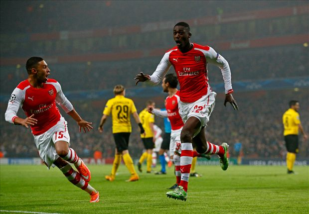 Arsenal 2-0 Borussia Dortmund: Sanogo & Alexis send Gunners through