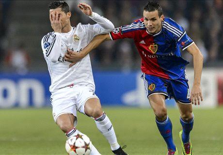 LIVE: Basel 0-1 Real Madrid