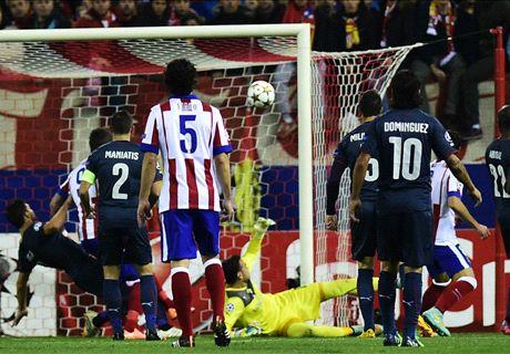 LIVE: Atletico Madrid 2-0 Olympiakos