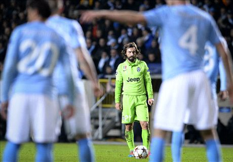 Live: Malmo 0-2 Juventus