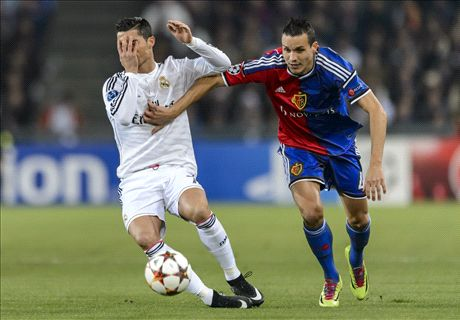 LIVE: Basel 0-1 Real Madrid