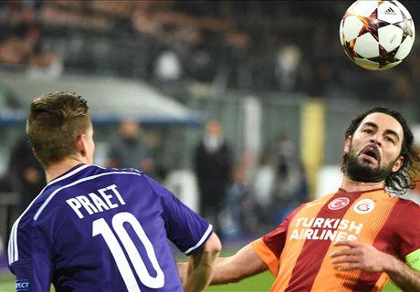 LIVE: Anderlecht 1-0 Galatasaray