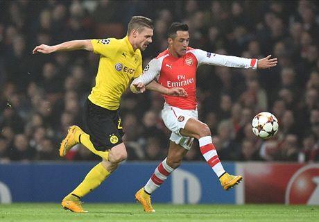 Arsenal-Borussia Dortmund, direct commenté et statistiques live