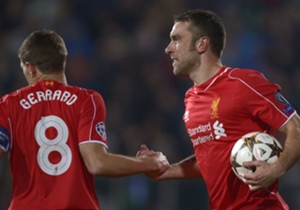 Rickie Lambert (1-1) | Ludogorets 2-2 Liverpool | Champions League Group B | Natsionalen Stadion Vasil Levski