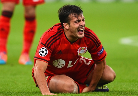 Bayer Leverkusen, Donati out 2-3 semaines