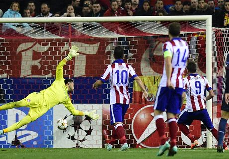 Mandzukic fires Atleti into round of 16