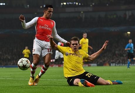 LIVE! Arsenal - Borussia Dortmund: 2-0